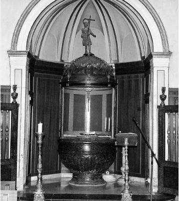 Reportaje de bautizo Basílica del Pilar Zaragoza