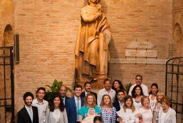 Reportaje de Bautizo Cripta Santa Engracia Zaragoza