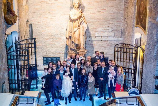 Reportaje de Bautizo Ignacio en la Cripta de Santa Engracia