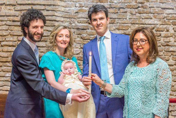 Reportaje de Bautizo en la Cripta de Santa Engracia en Zaragoza