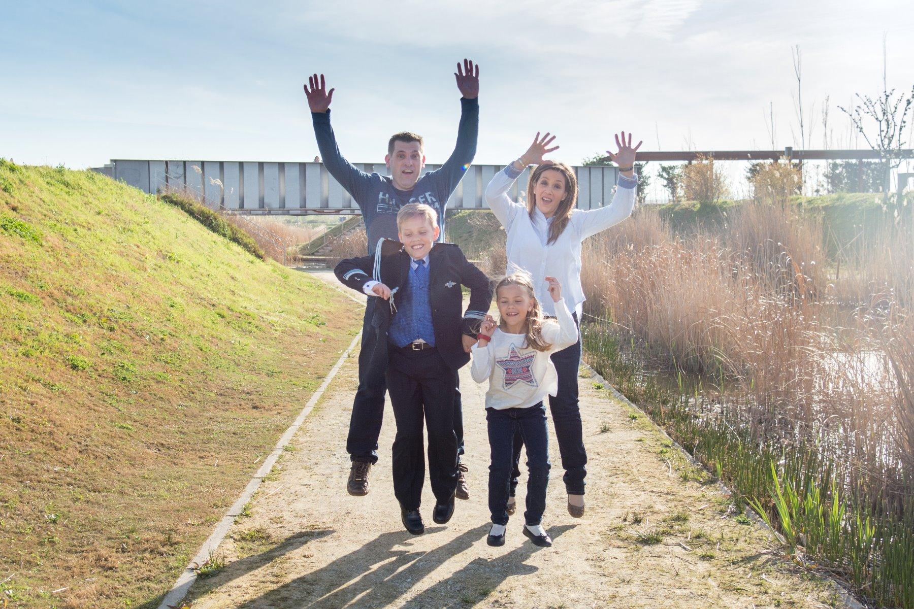 Reportaje de comunión niño en el Parque del Agua en Zaragoza 5